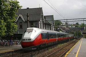 Norwegian State Railways - NSB Class 73 long-distance train