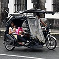 Motorized tricycle, Muralla Street, 2018 (01).jpg