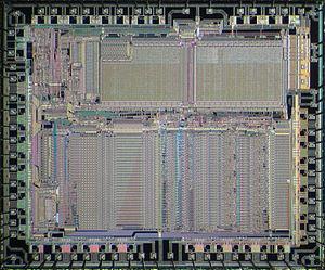 Motorola 68881 - Die of Motorola 68881