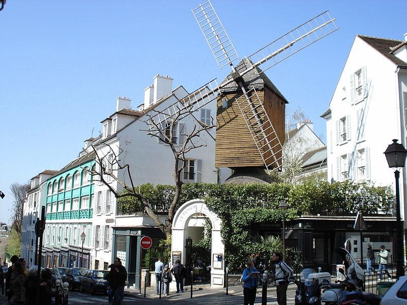 Turismo em Montmartre, em Paris