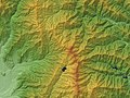 Mount Daibosatsu-rei Relief Map, SRTM-1.jpg