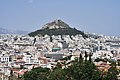 Mount Lycabettus from the Areopagus on July 8, 2019.jpg