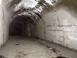 Mount Parish - Interior of the ARP tunnels