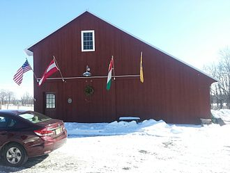 Mount Salem Vineyards - Mount Salem's tasting room is in 200-year-old structure that once served as a barn.