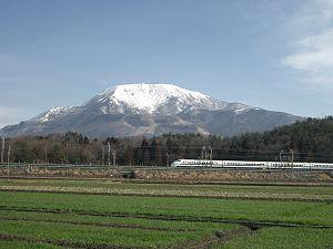 Tōkaidō Shinkansen - Mt. Ibuki and the Tokaido Shinkansen