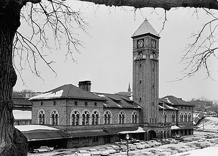 Mount Royal Station, March 1960