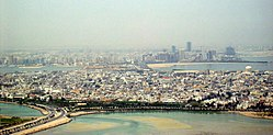 Muharraq skyline