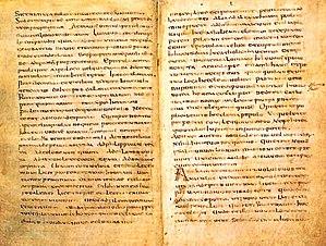 Muratorian fragment - Muratorian fragment is preserved in Milan, Bibliotheca Ambrosiana, Cod. J 101 sup.
