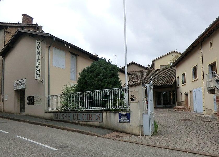 Musée de cire d'Ars-sur-Formans.