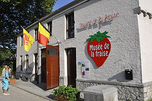 Wépion - Strawberry museum in Wépion