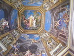 Museo Pio-Clementino — Sala delle Muse — Ceiling with fresco by Conca, Tommaso.jpg