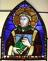 Museo di santa croce, vetrata pacino di bonaguida, diacono.JPG
