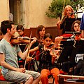 Musique-Cordiale Academy orchestra in rehearsal.JPG