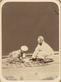 Muslim School. Listening to Lessons WDL10760.png