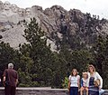 My girls at Mt. Rushmore 1981 (8230757274).jpg