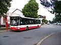 Nádraží Uhříněves, Citybus 3286 na lince 267.jpg