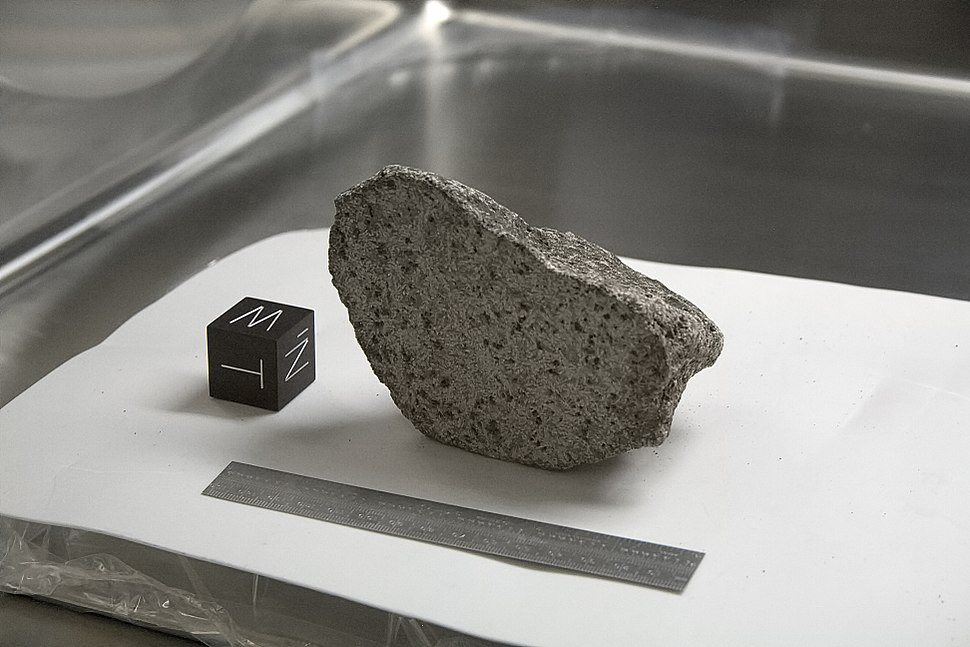NASA Lunar Sample 15555