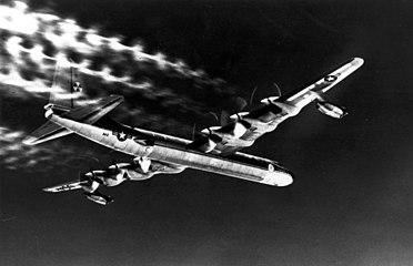 NB-36H producing contrails in flight.jpg