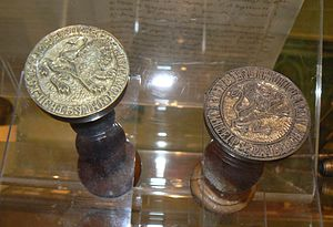 Bulgarian Revolutionary Central Committee - Seals of the BRCC, 1870s (copies in National History Museum).