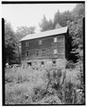 NORTH ELEVATION - Clark-Heller Mill, U.S. Route 209 (Middle Smithfield Township), Bushkill, Pike County, PA HABS PA,45-BUSH.V,1-2.tif