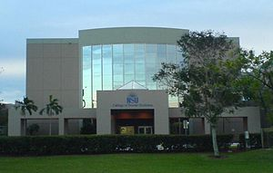 Nova Southeastern University College of Dental Medicine - Exterior of Dental School Building.