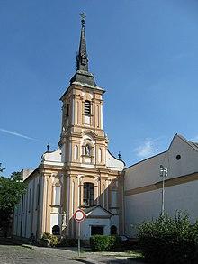 f420ea21e1f17 Františkánsky kostol v Nových Zámkoch