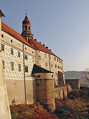 Náchod - Image: Nachod castle 1