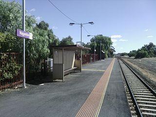 Nagambie railway station