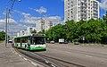 Nagatinsky Zaton NovinkiStreet with bus 05-2015.jpg