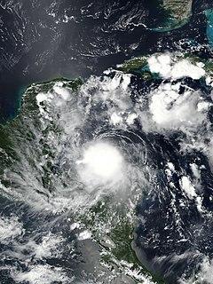 Hurricane Nana (2020) Category 1 Atlantic hurricane in 2020