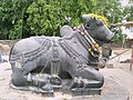 Nandi statue near Thousand pillar Temple.jpg