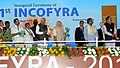 Narendra Modi at the inaugural ceremony of the 21st International Conference on Frontiers in Yoga Research and its Applications (INCOFYRA), in Bengaluru, Karnataka. The Governor of Karnataka (1).jpg