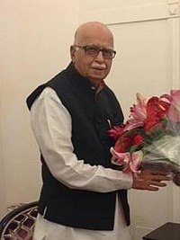 Narendra Modi wishes L.K. Advani on his birthday (cropped).jpg