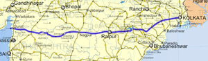 National Highway 6 (India)(old numbering) - Image: National Highway 6 (India)