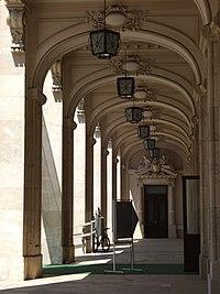 National Museum of Romanian History - arcades.JPG