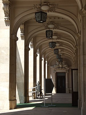 National Museum of Romanian History - Image: National Museum of Romanian History arcades