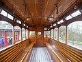 National Tramway Museum Glasgow Corporation 22 Lower Deck Interior.jpg