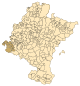 Navarra - Mapa municipal Zonificacion 2000 Tierra de Estella Occidental.svg