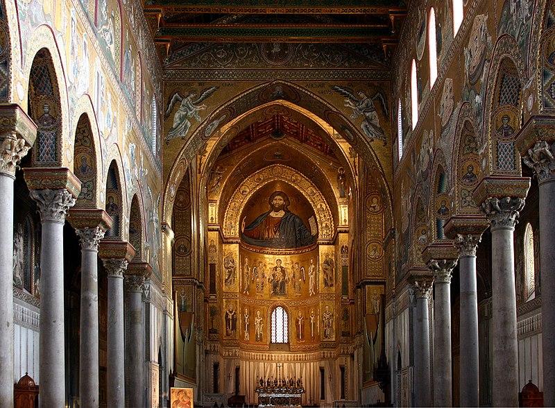 Monreale Italy  city photo : Nave Cathedral of Monreale Italy 2015 2 Wikimedia ...