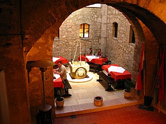 Nehaj Fortress - Image: Nehaj Senj Croatia indoor 090727a