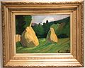 Nemes-Lampérth - Hay-stacks at the forest edge.jpg