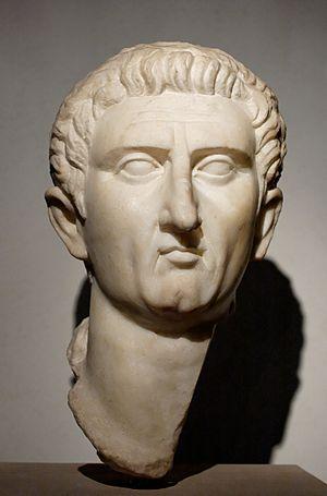 Portrait of Emperor Nerva. Marble, 96–98 CE. F...
