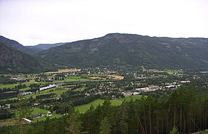 Hallingdal - Nesbyen in Nes is one of the largest settlements in Hallingdal