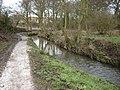 New Path alongside Burniston Beck - geograph.org.uk - 1162205.jpg