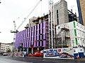 New building for Leeds Beckett University (geograph 6178518).jpg