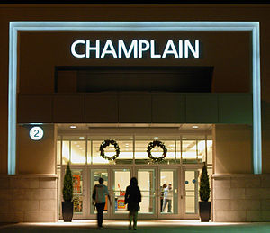 Champlain Place - Image: New entrance to Champlain Place, Dieppe NB (2008)