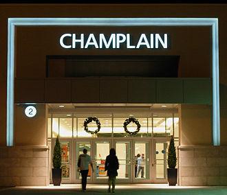 CF Champlain Place - Image: New entrance to Champlain Place, Dieppe NB (2008)