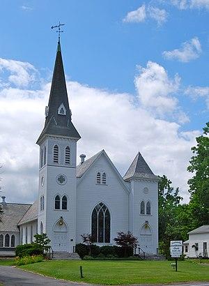 Newtonville, New York - Image: Newtonville Methodist Church