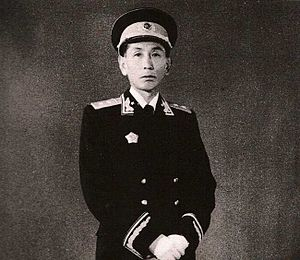 Ngabo dressed as a PLA General, 1955.jpg
