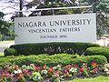 Niagara University sign.jpg